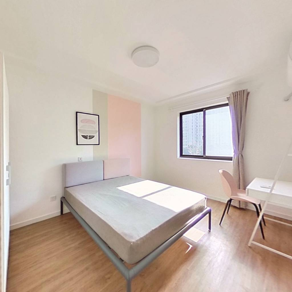合租·和欣家园 3室1厅 北卧室图