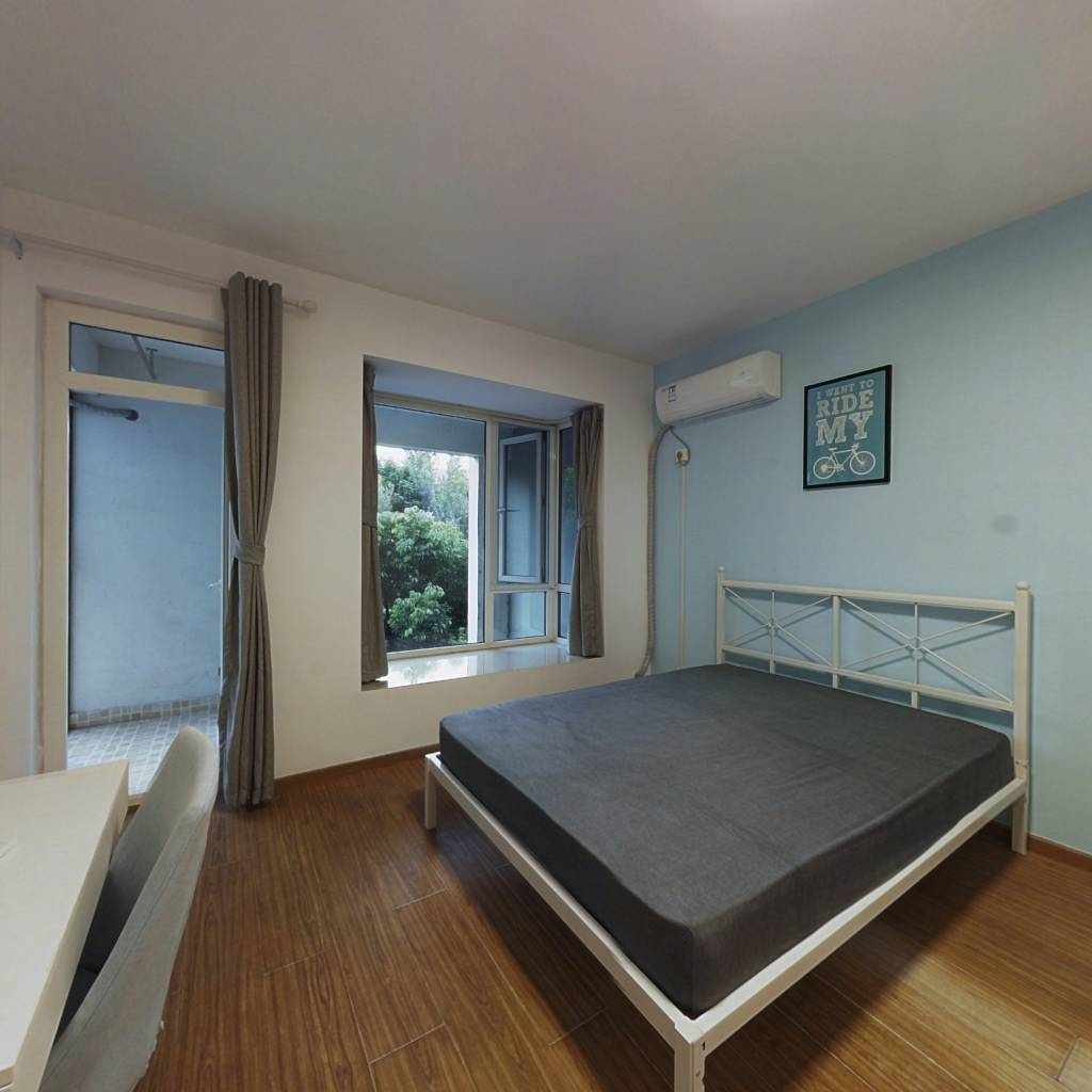 合租·蓝谷地天域 3室1厅 南卧室图