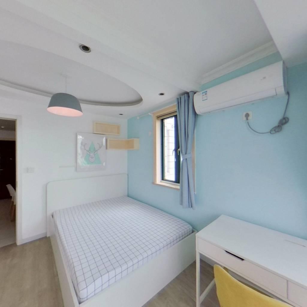 整租·红莲小区 2室1厅 南卧室图