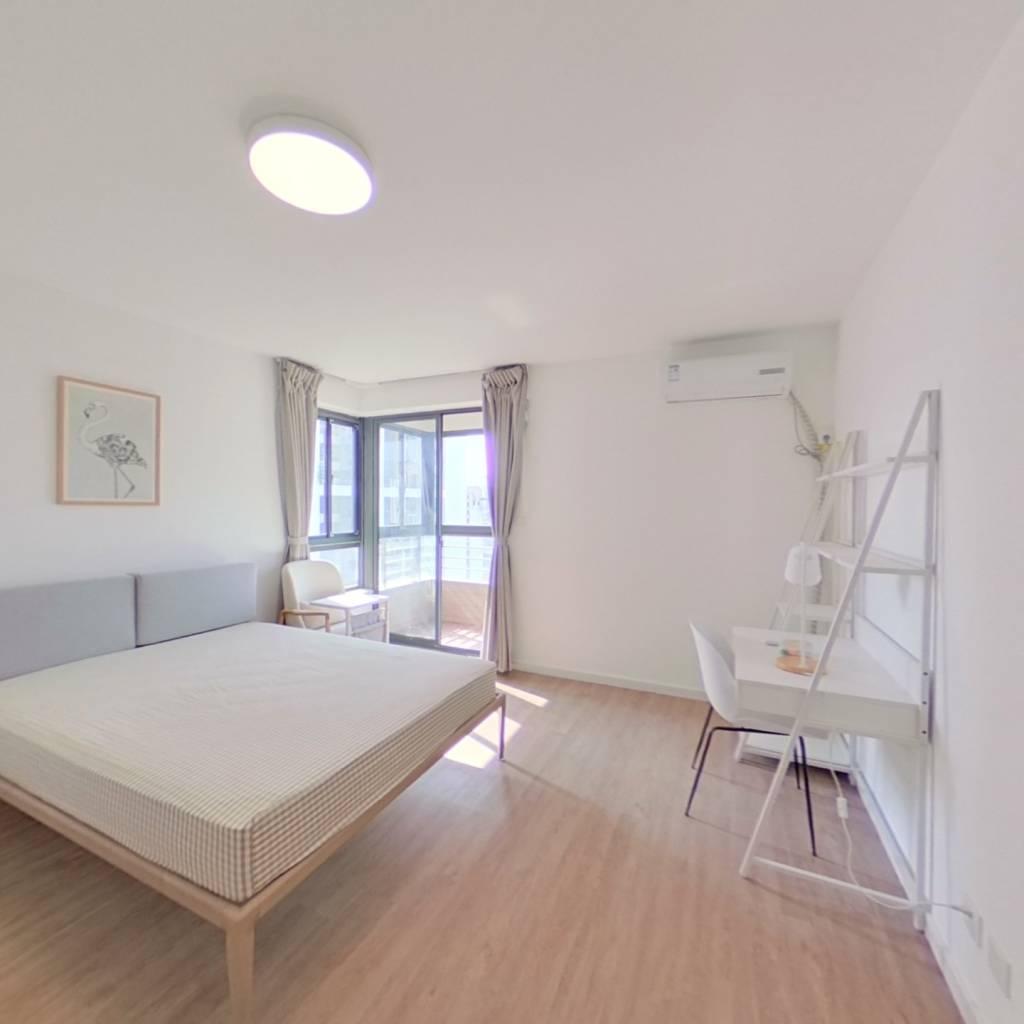 合租·明园森林都市 4室1厅 西卧室图