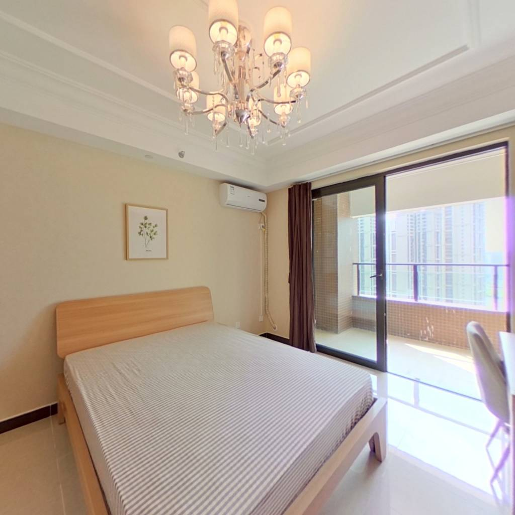 合租·恒大天府半岛三期 4室1厅 西北卧室图
