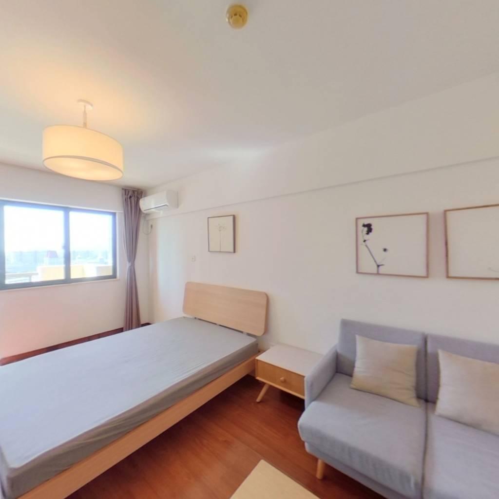 整租·开元地中海 1室1厅 南卧室图