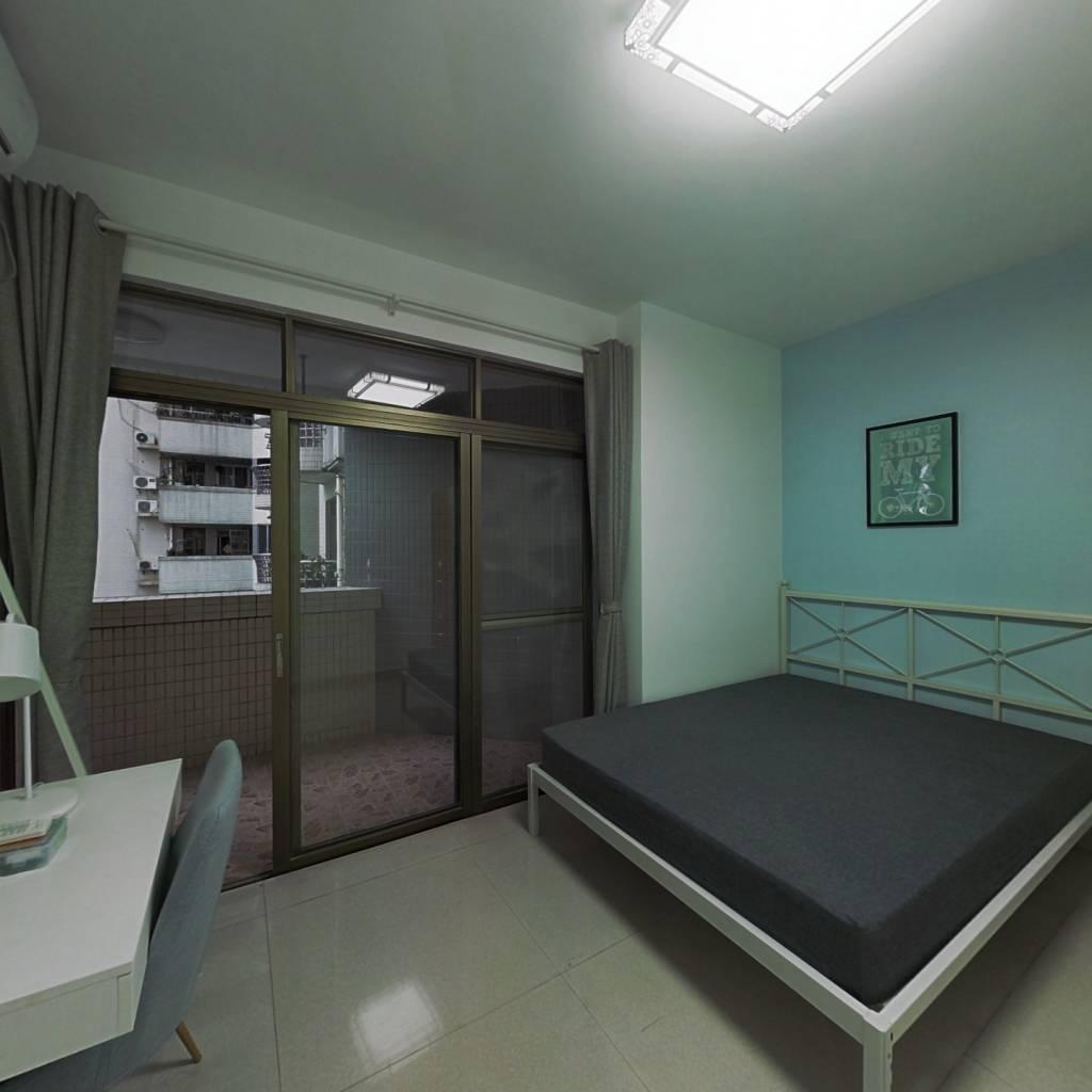合租·华景新城信华花园 5室1厅 东卧室图