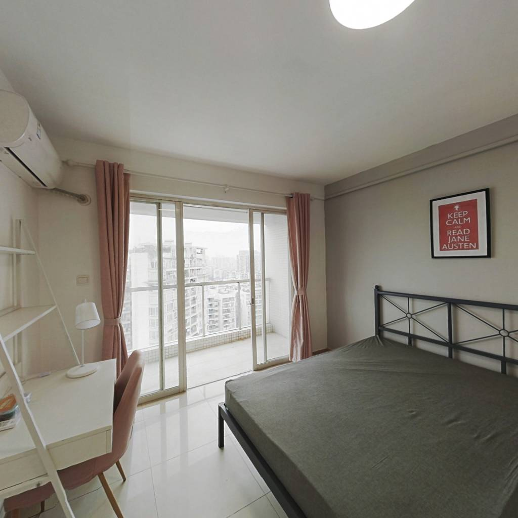合租·保利百合花园 3室1厅 西卧室图