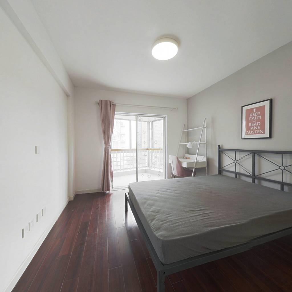 合租·华门自由21世纪 3室1厅 南卧室图