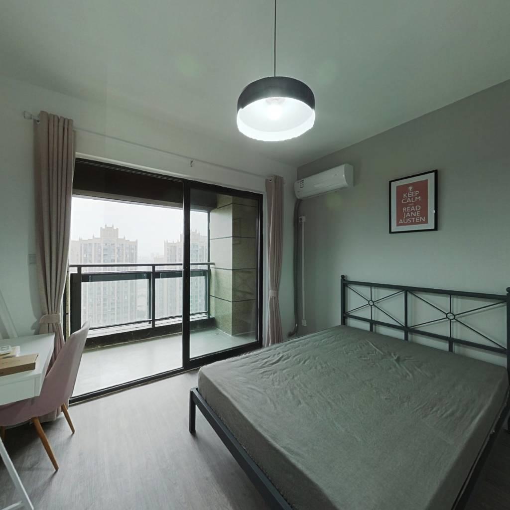 合租·央湖名邸二期 4室1厅 西南卧室图