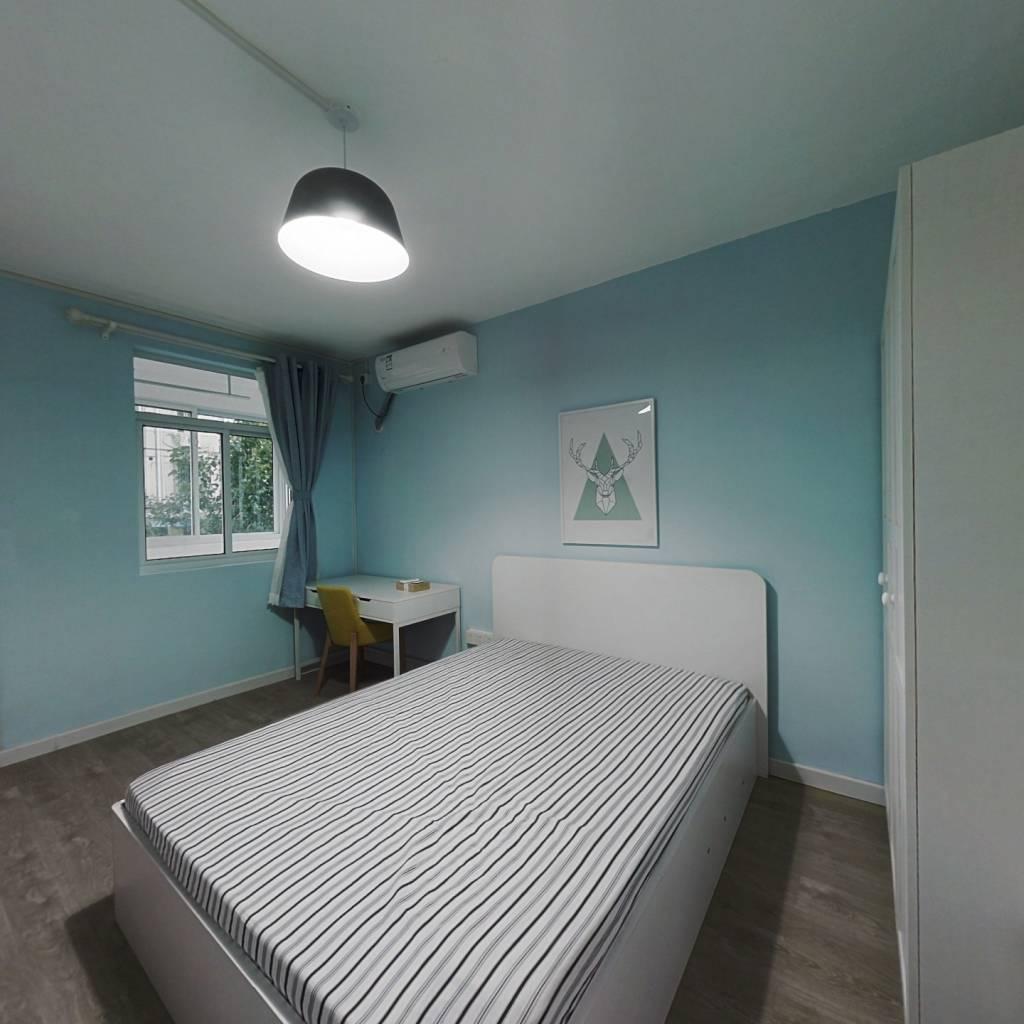 整租·琥珀巷小区 2室1厅 南北卧室图