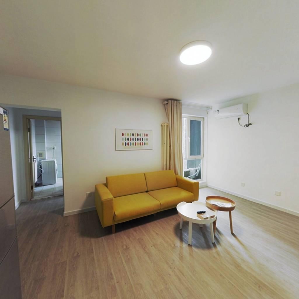 整租·后现代城A区 1室1厅 南卧室图