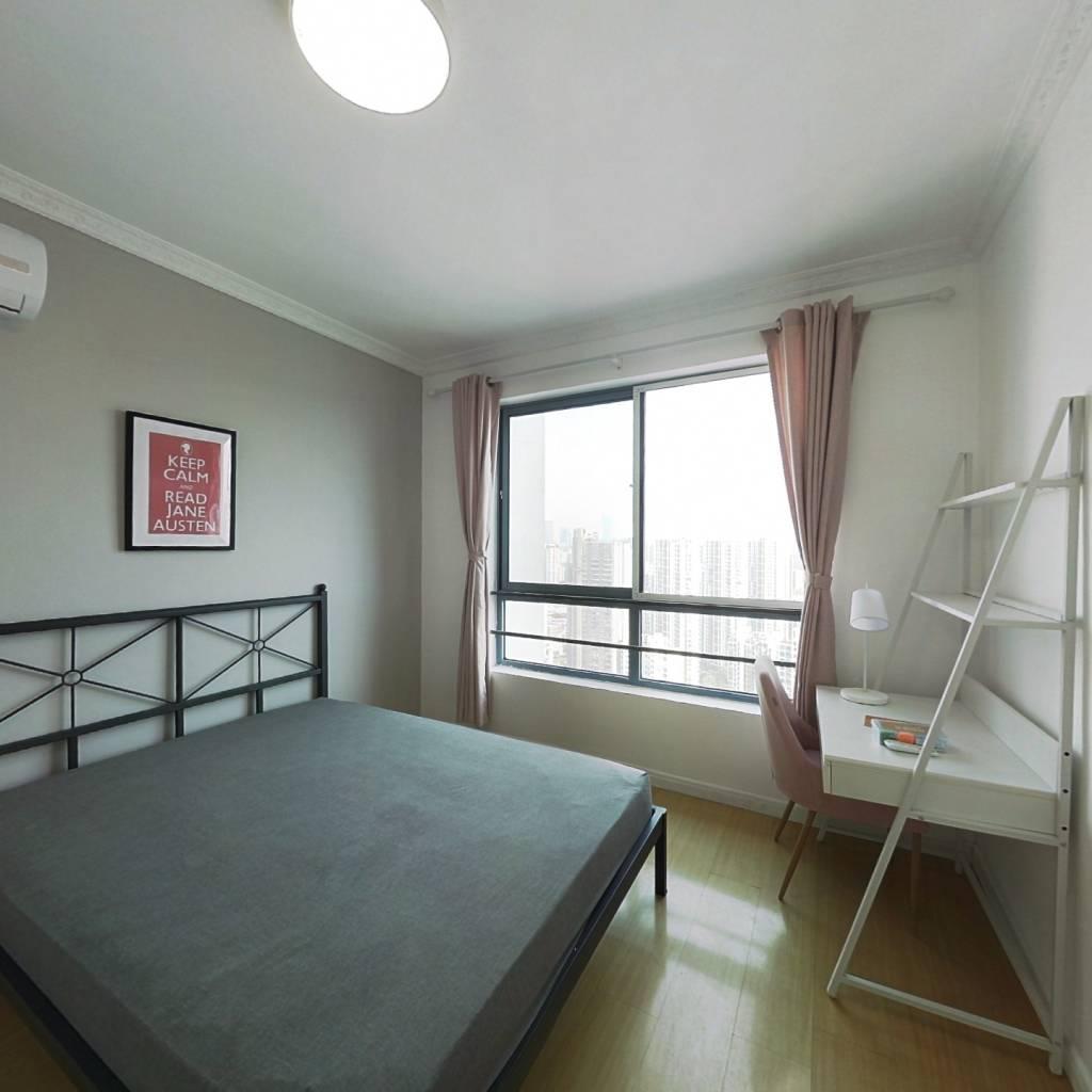 合租·绿地世纪城(一期) 3室1厅 南卧室图