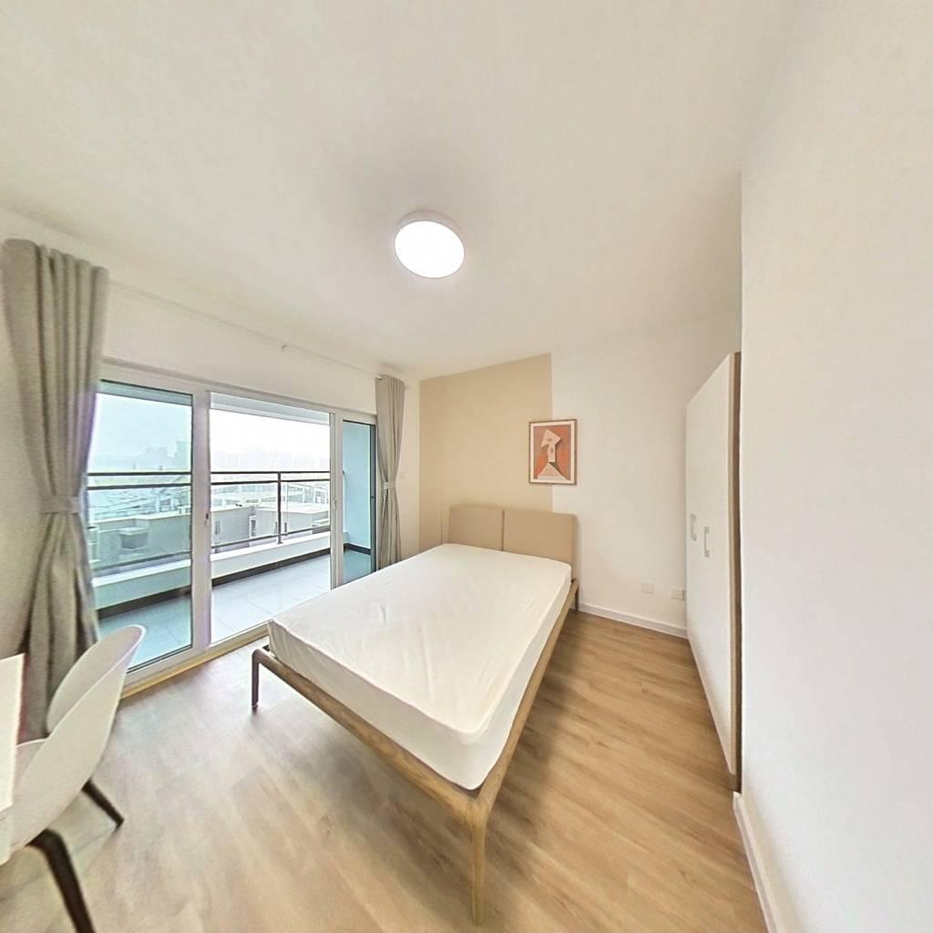 合租·普得先锋国际 4室1厅 西南卧室图