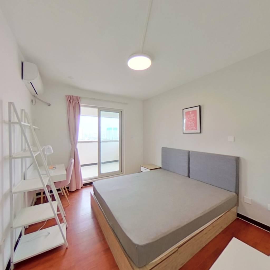 合租·西城天下 4室1厅 东北卧室图