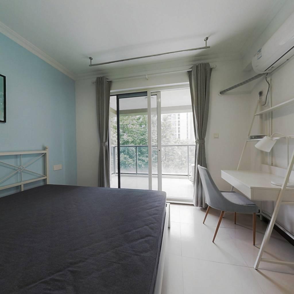 合租·金色黎明二期 4室1厅 南卧室图