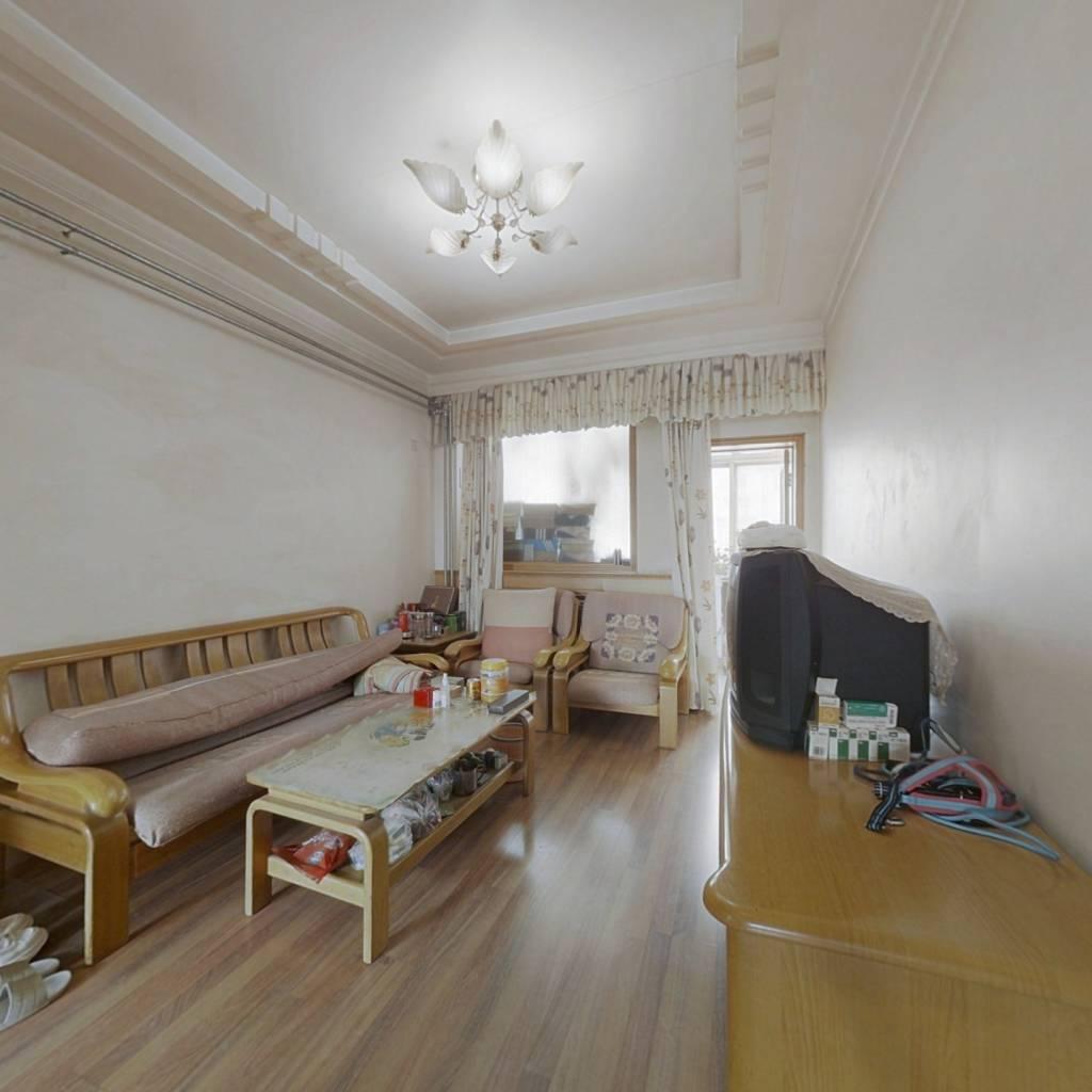 06小区,两室一厅,一梯两户,通透户型,小区新改造