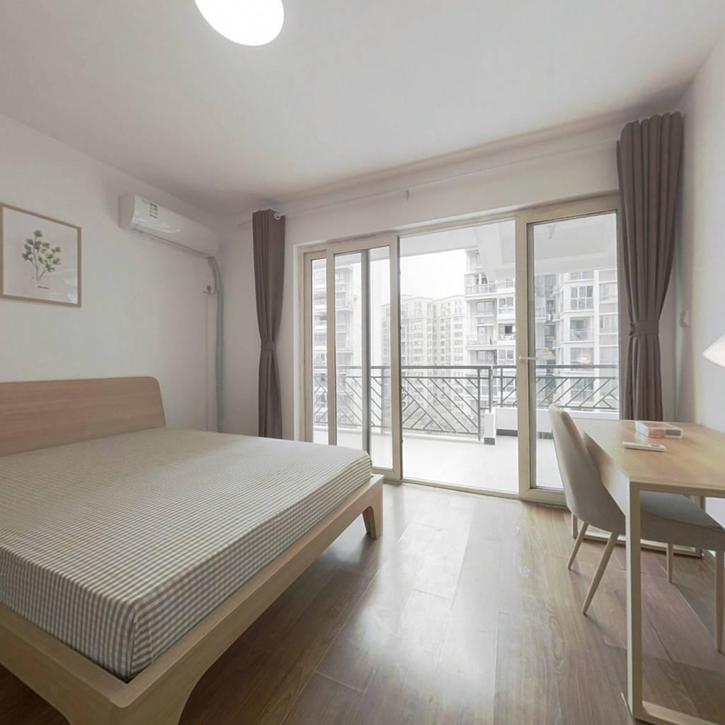合租·富丽锦城 3室1厅 南卧室图