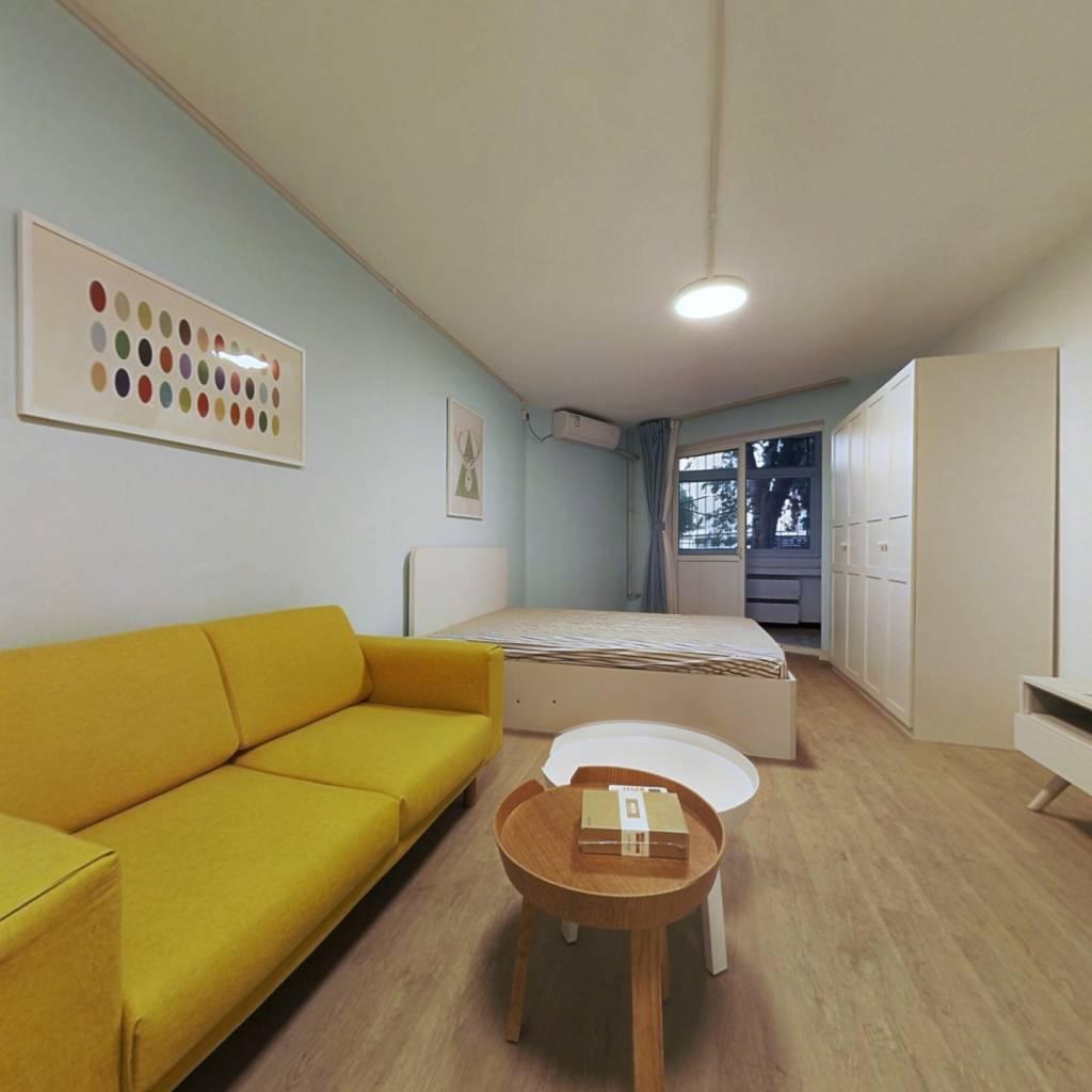 整租·小南庄社区 1室1厅 西卧室图