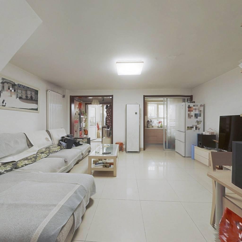 10平阳光房+40平露天露台,西城莲花河观景复式,双卫