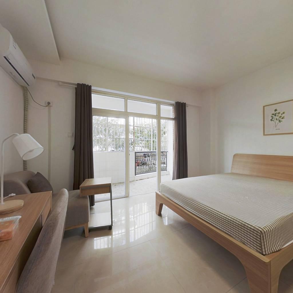 合租·新龙苑东区 4室1厅 东卧室图