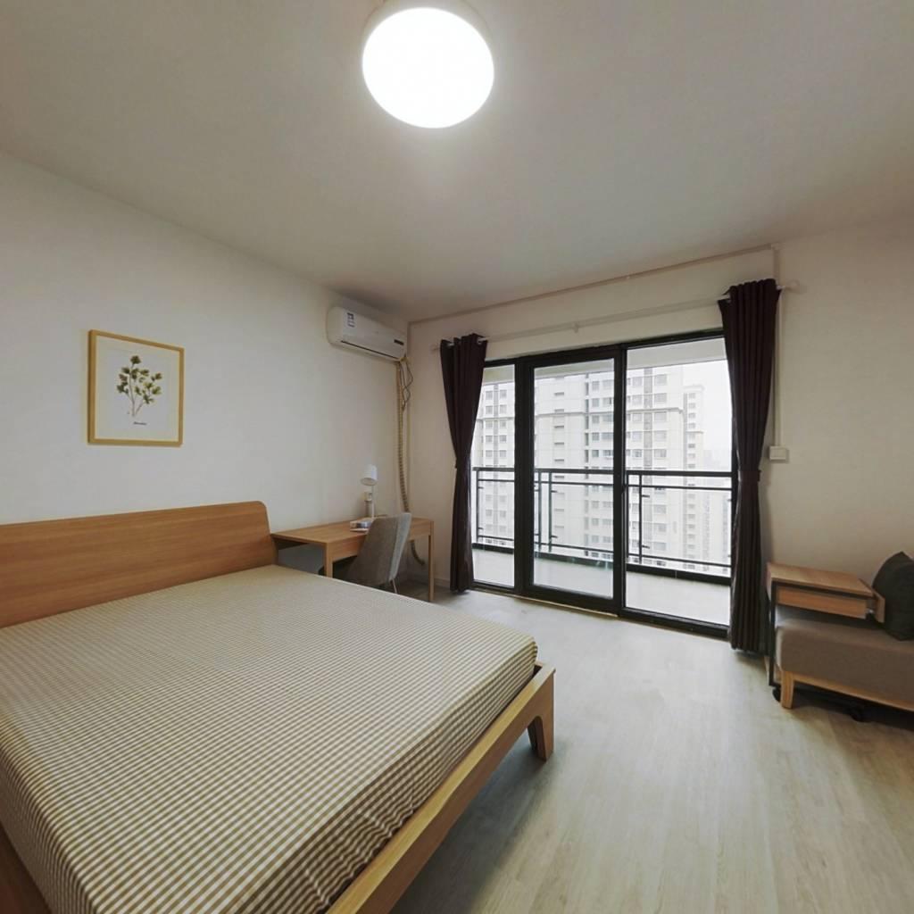 合租·统建同安家园 4室1厅 北卧室图