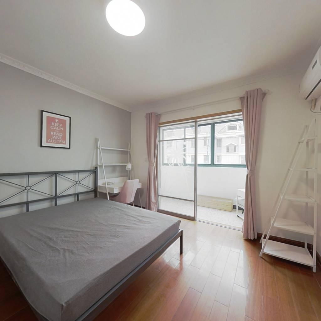 合租·天景山公寓碧华苑 4室1厅 南卧室图