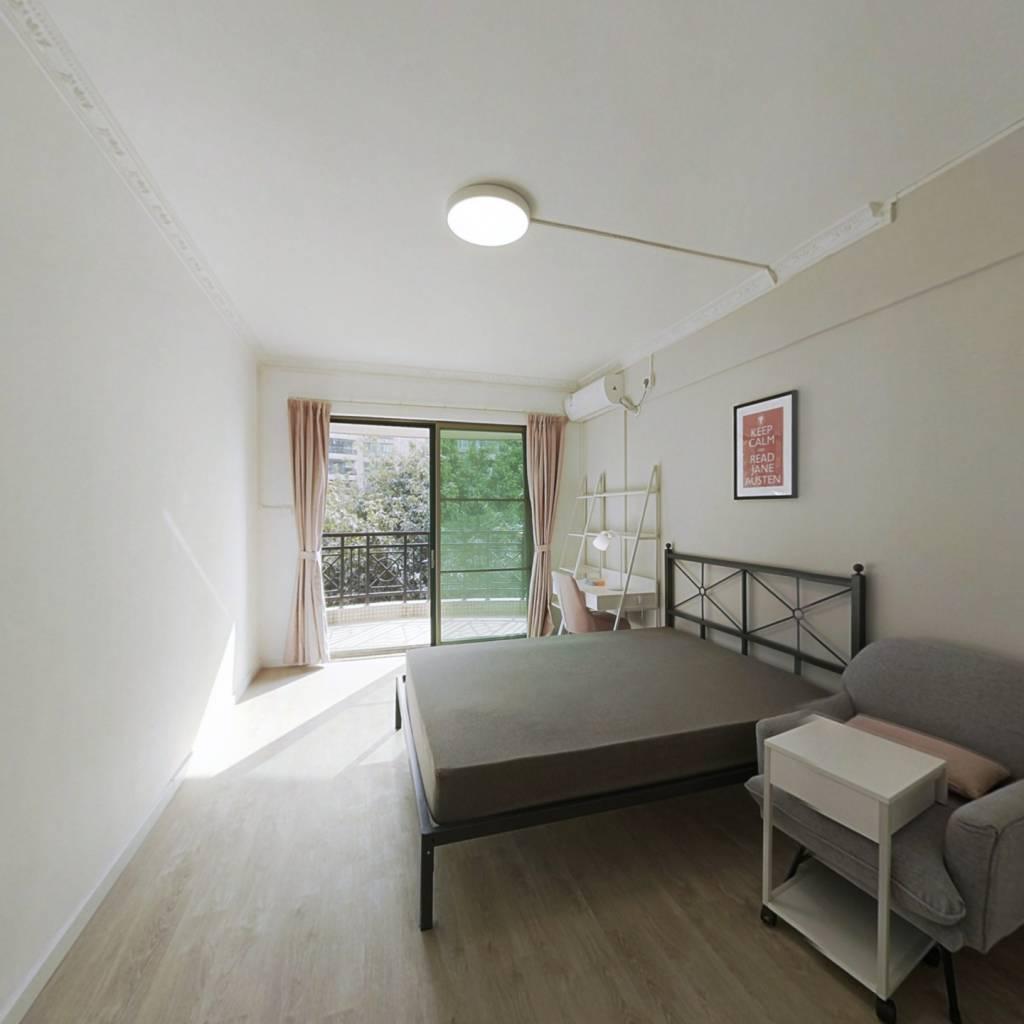 合租·怡港花园 4室1厅 南卧室图