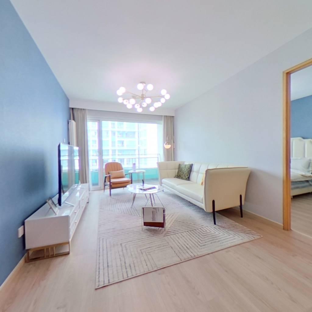 整租·华贸国际公寓 1室1厅 西卧室图