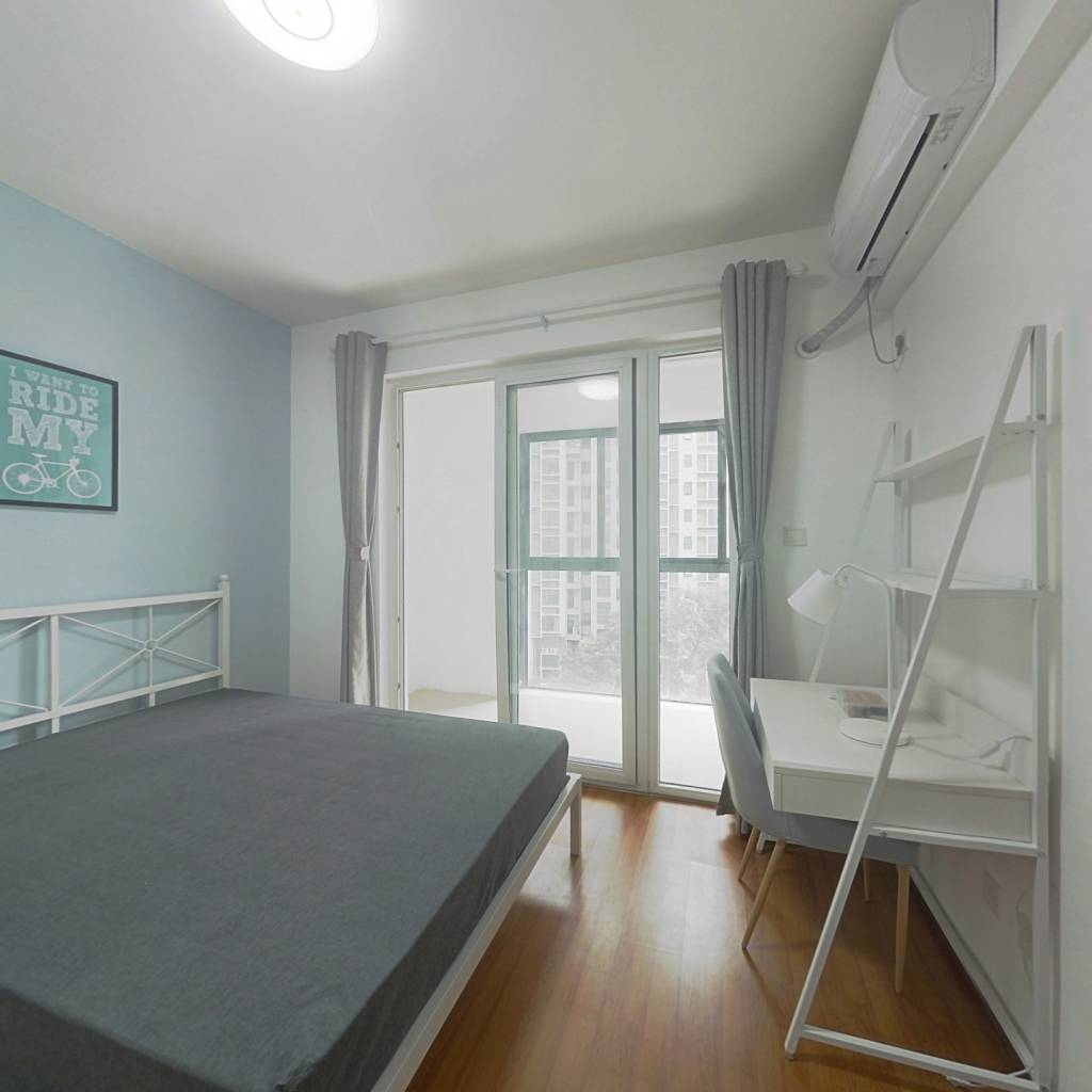合租·上东一号一期 4室1厅 西卧室图