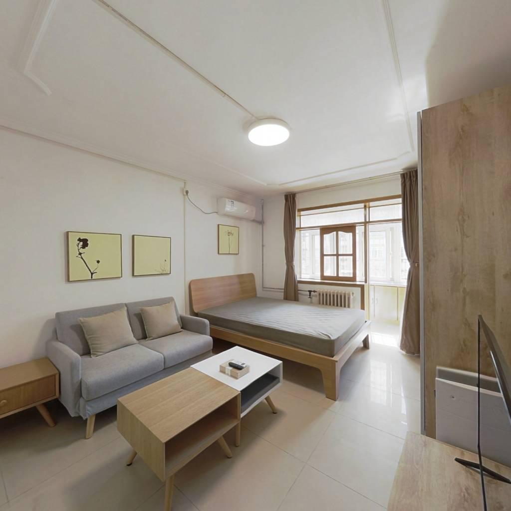 整租·松榆东里 2室1厅 南北卧室图