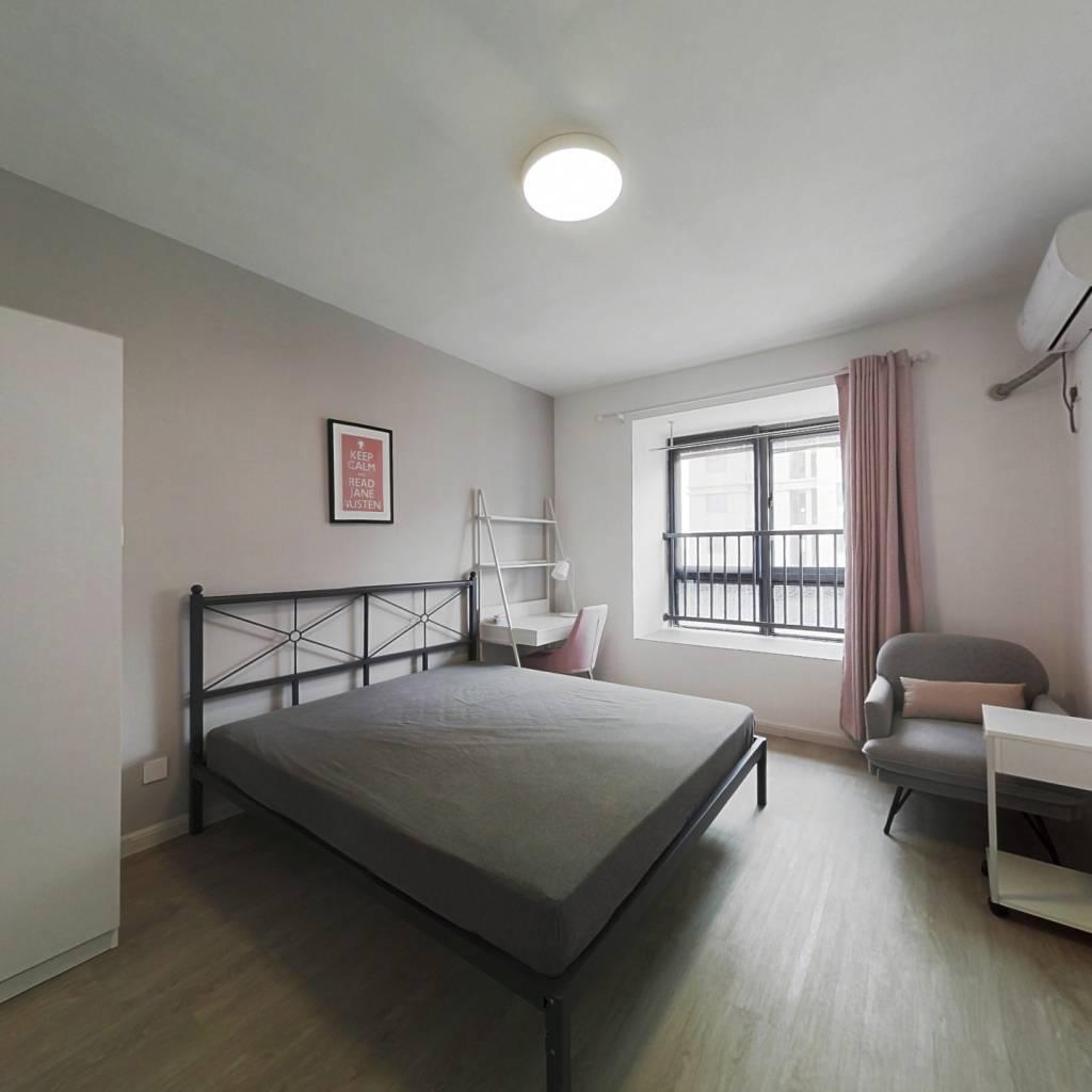 合租·万科金域国际 4室1厅 东卧室图