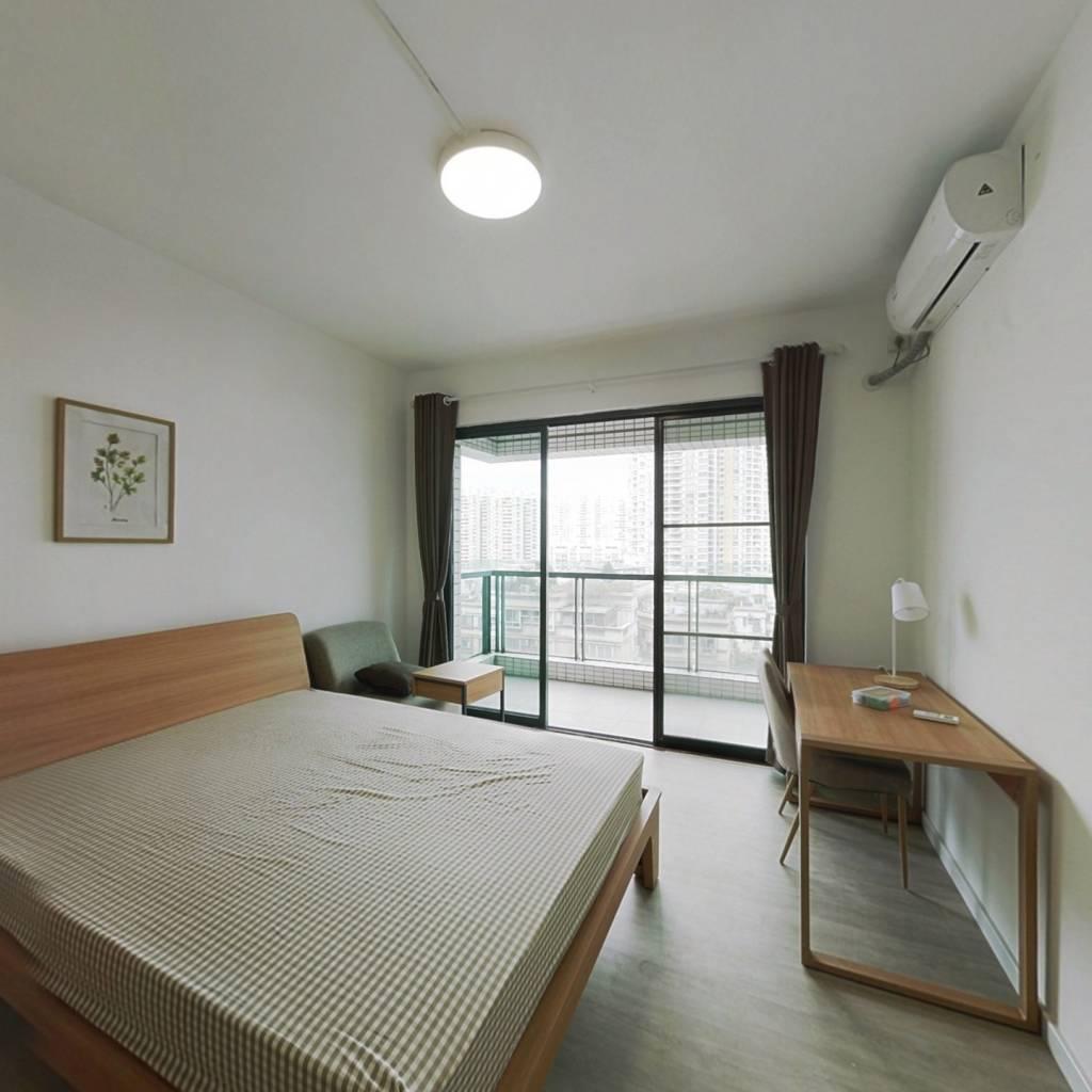 合租·新世界东逸花园 3室1厅 北卧室图