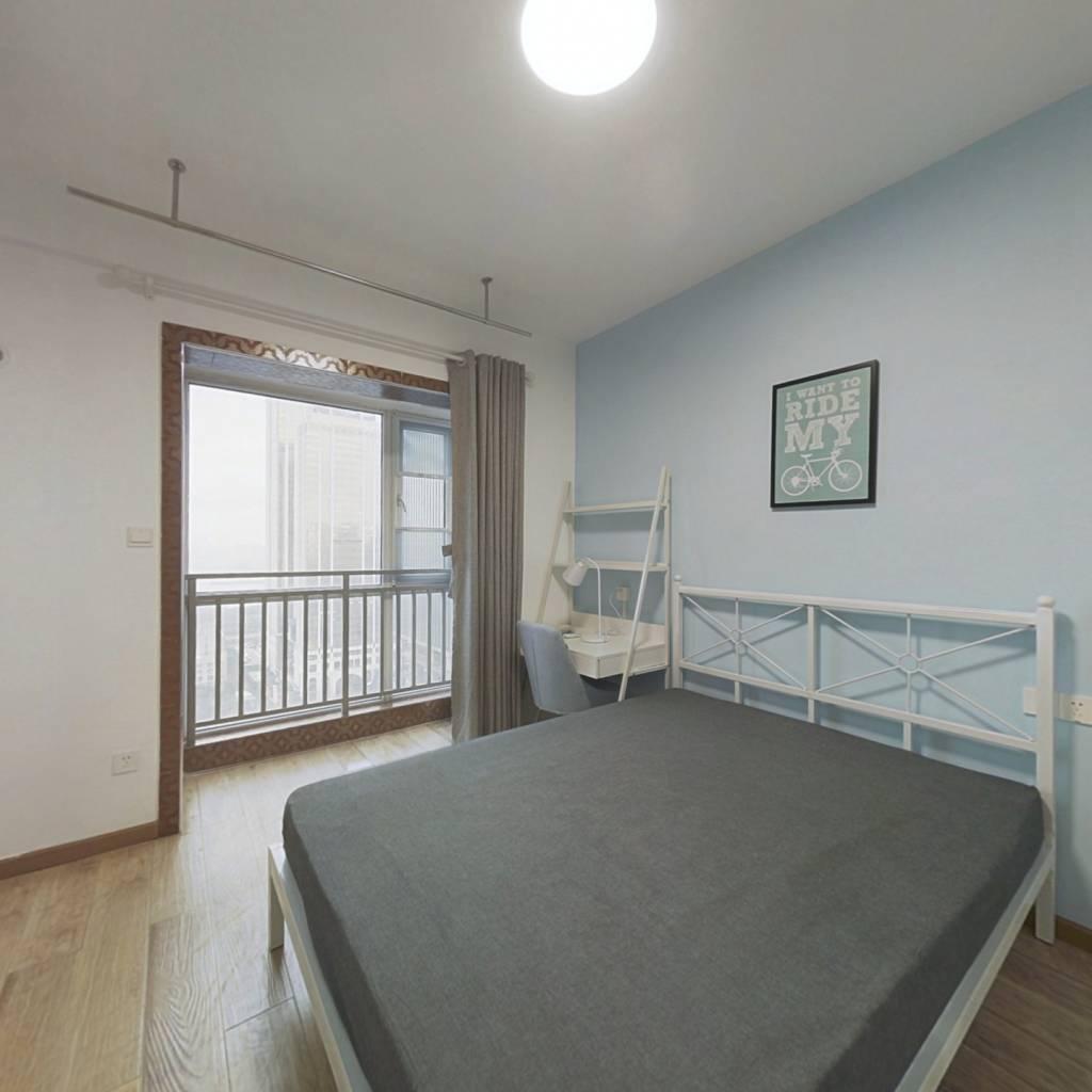 合租·三阳金城 4室1厅 东卧室图