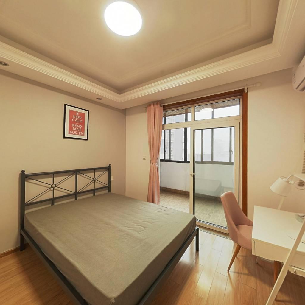 合租·金沙西园四期 3室1厅 北卧室图