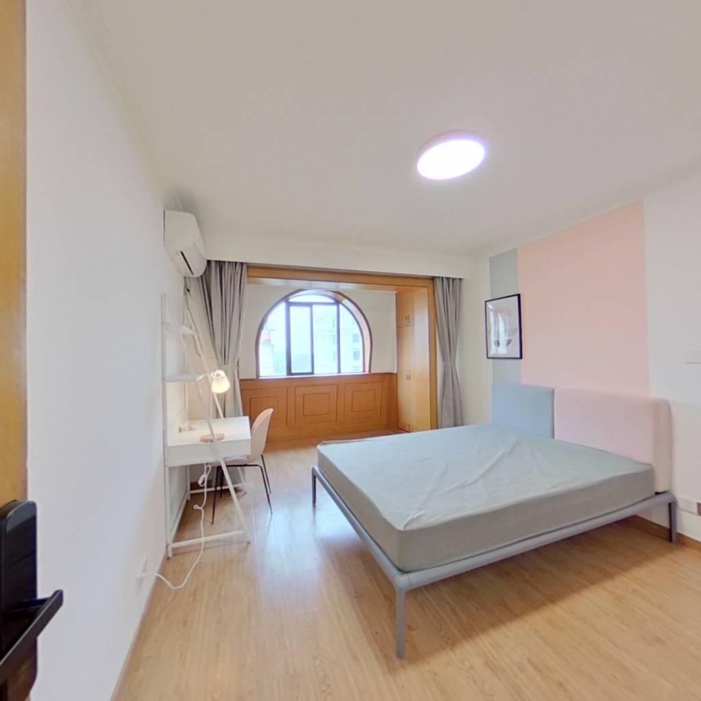 合租·紫荆新苑 3室1厅 北卧室图