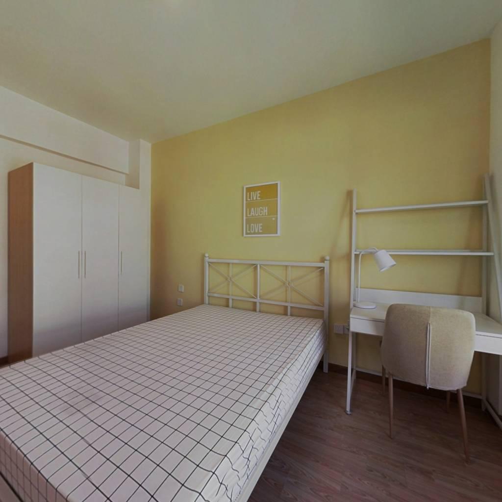 合租·波光园二期 4室1厅 南卧室图
