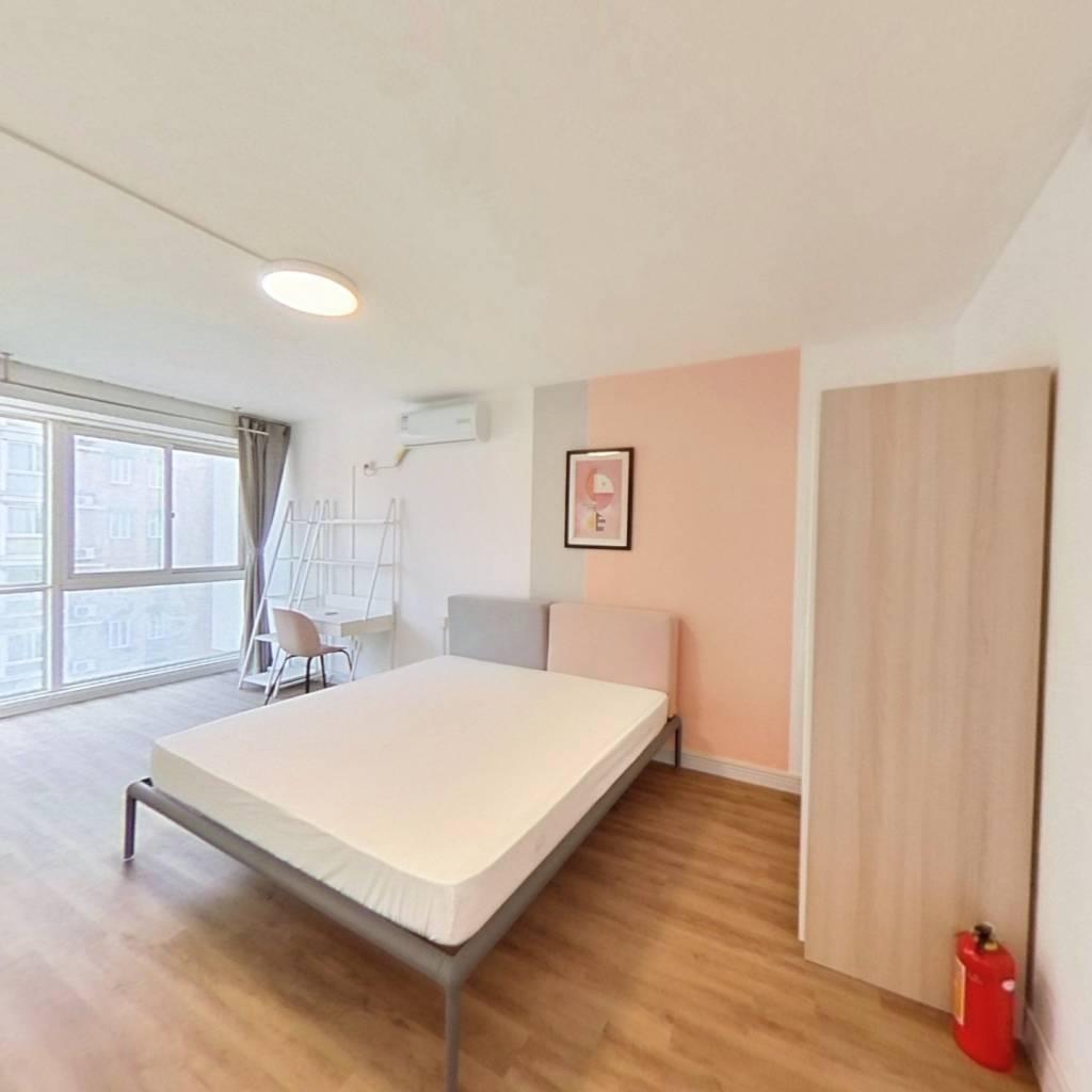 合租·普金家园 4室1厅 南卧室图