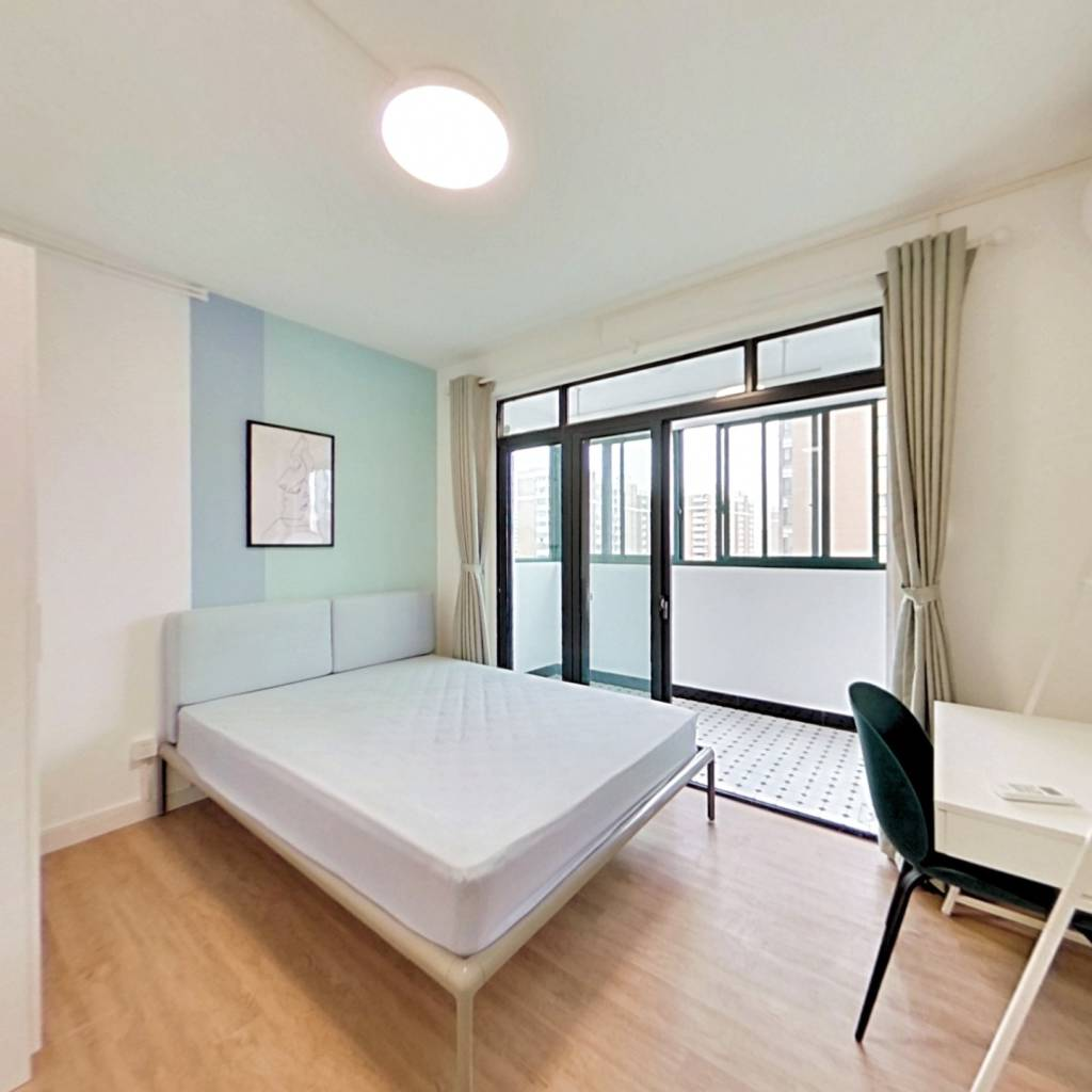 合租·申城佳苑 4室1厅 南卧室图