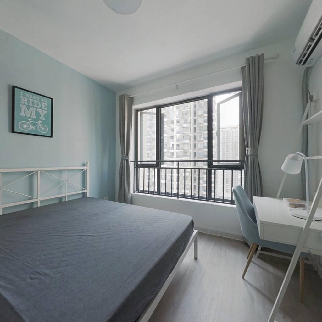 合租·瑞升望江橡树林三期 4室1厅 西卧室图