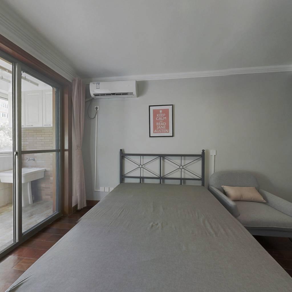 合租·天山新苑 4室2厅 北卧室图