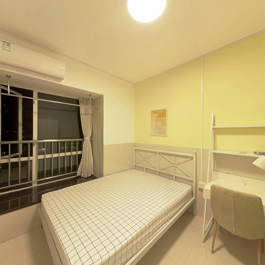合租·新庆花园 4室1厅 南卧室图