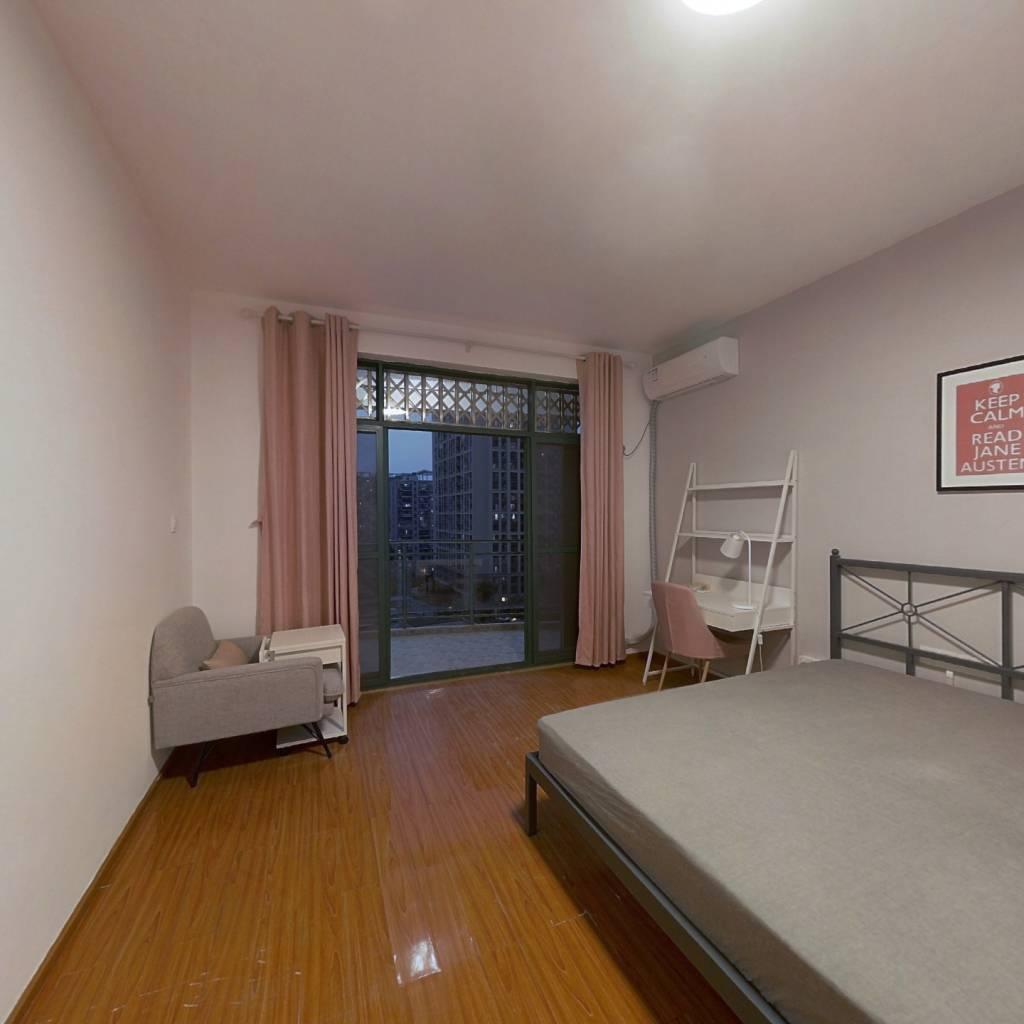 合租·滨湖名都城 3室1厅 西卧室图