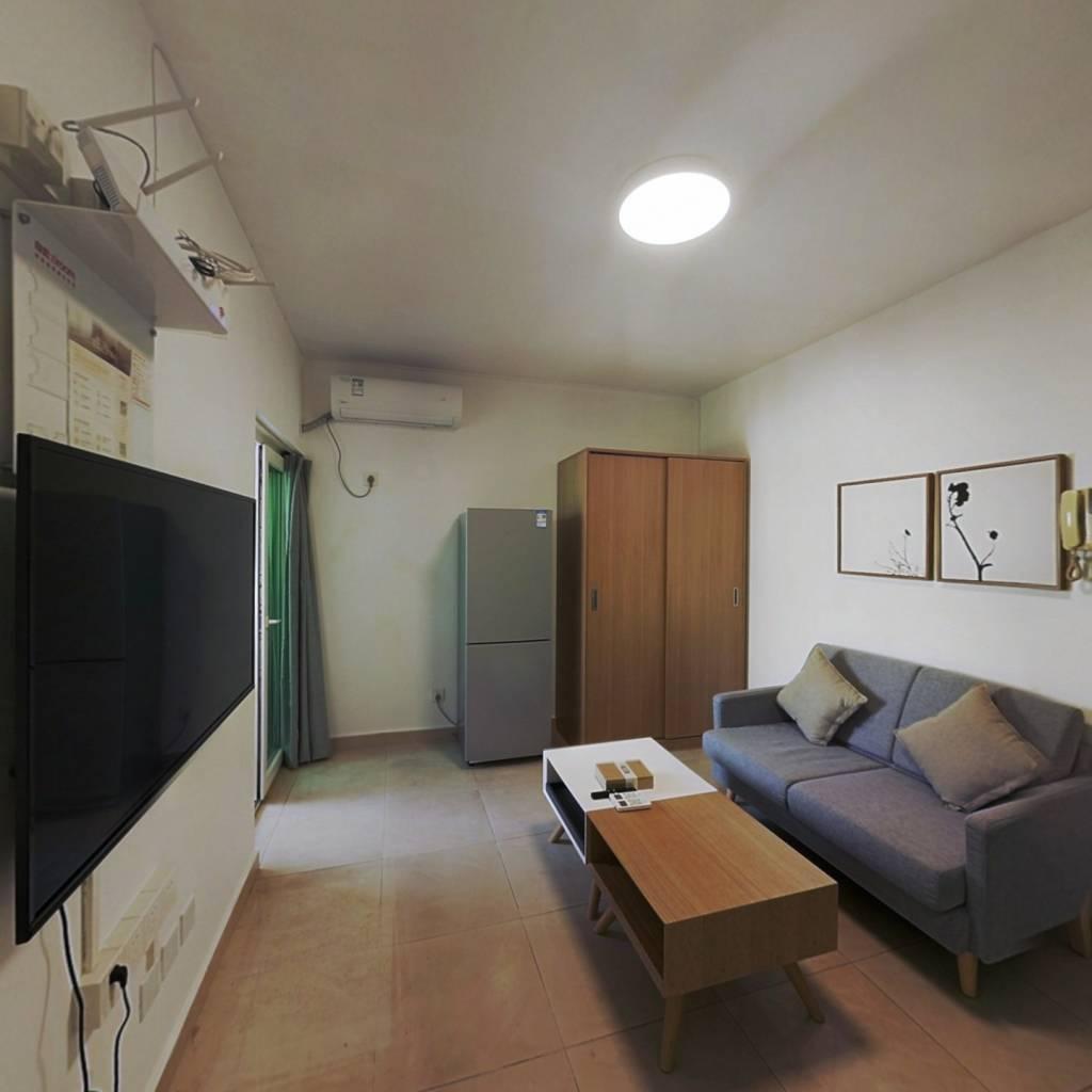 整租·金钟大厦 1室1厅 西卧室图