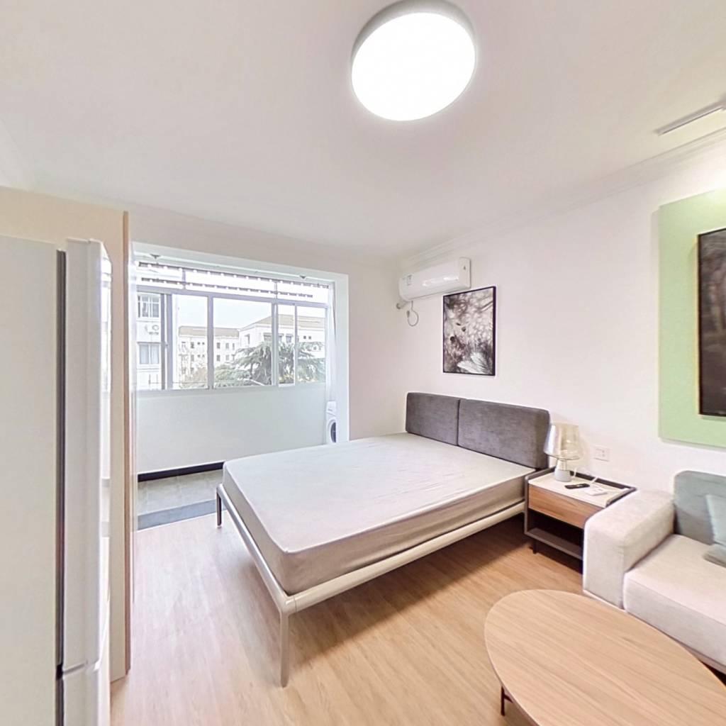 整租·瑞冬小区 1室1厅 南卧室图