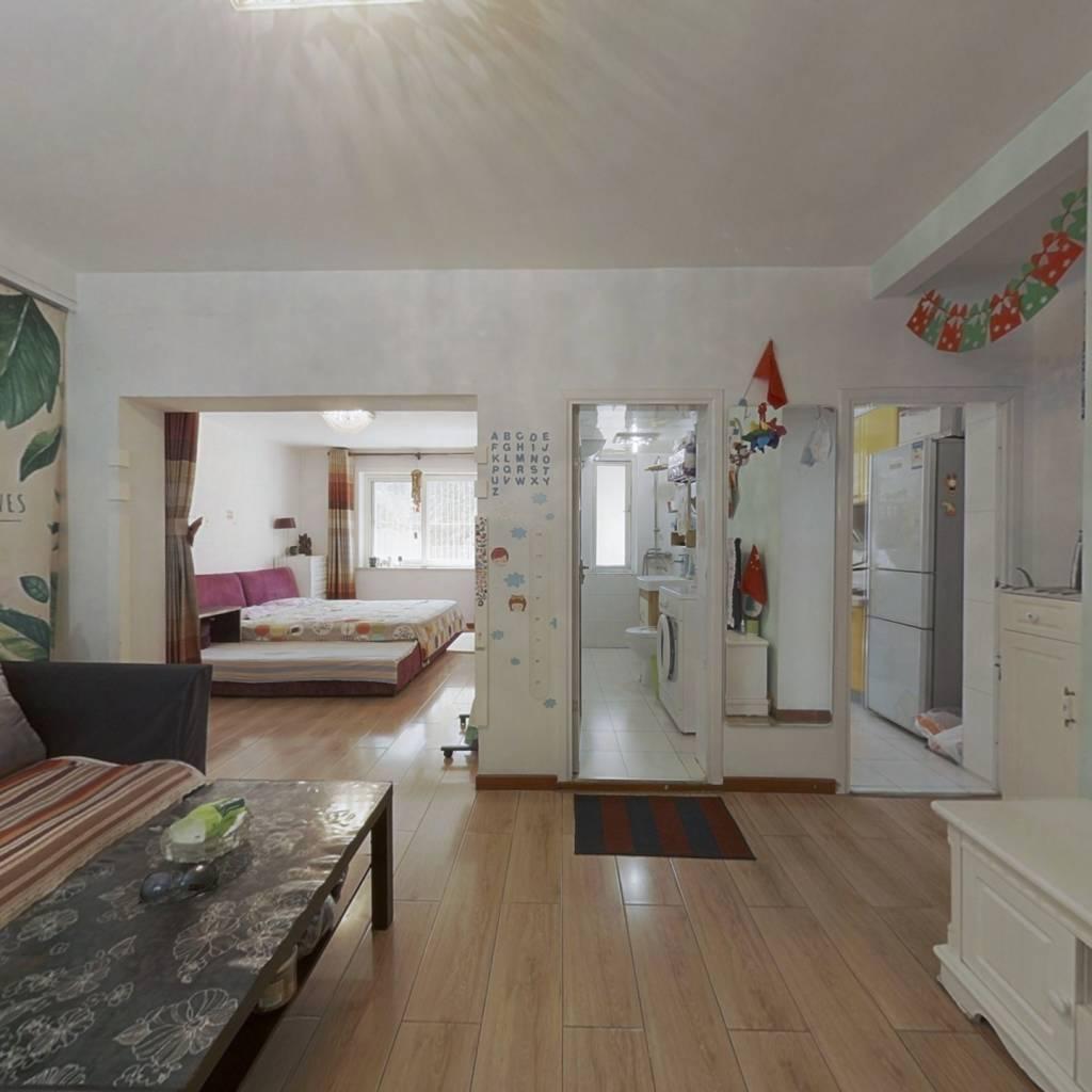 韩庄子二里,正规一居室,满五年,精装。
