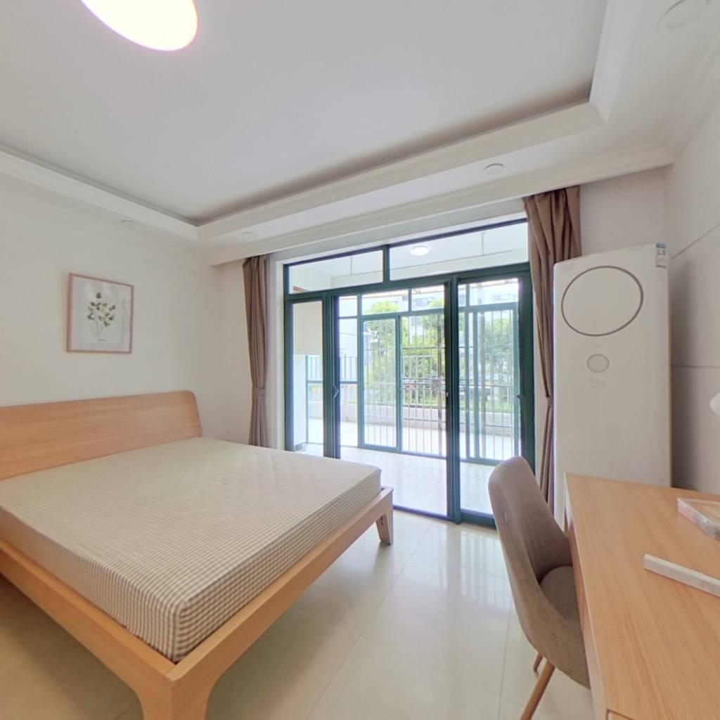 合租·九方家园 4室1厅 南卧室图