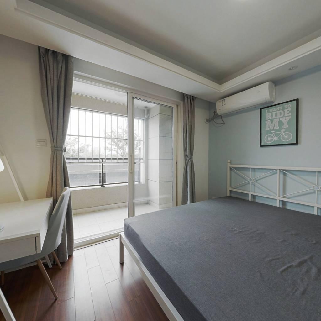 合租·万科大家世纪之光 4室1厅 南卧室图