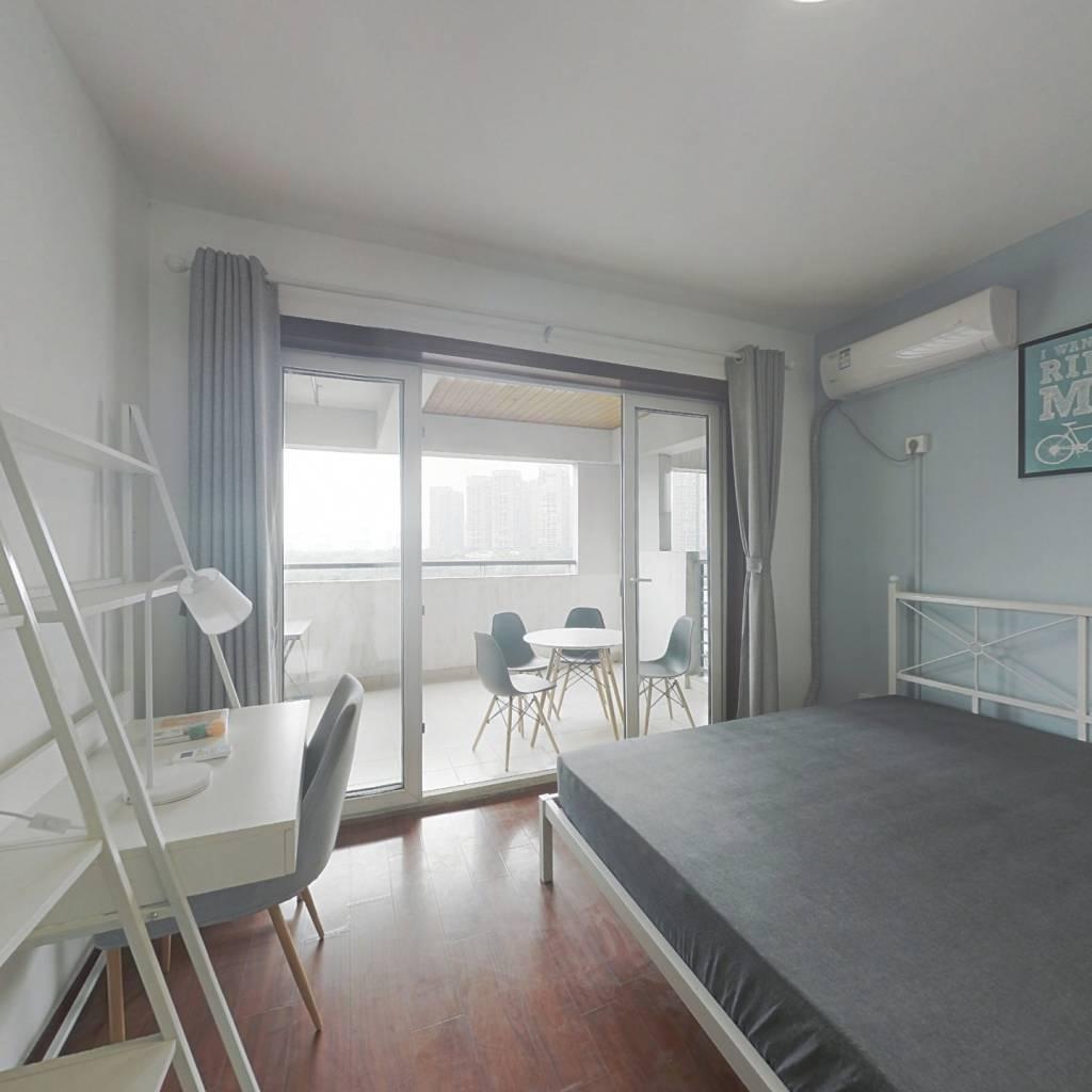 合租·蓝光凯丽香江 3室1厅 东南卧室图