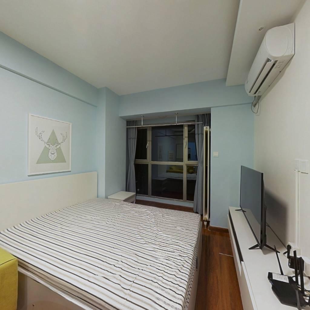 整租·锋泛国际 1室1厅 西卧室图