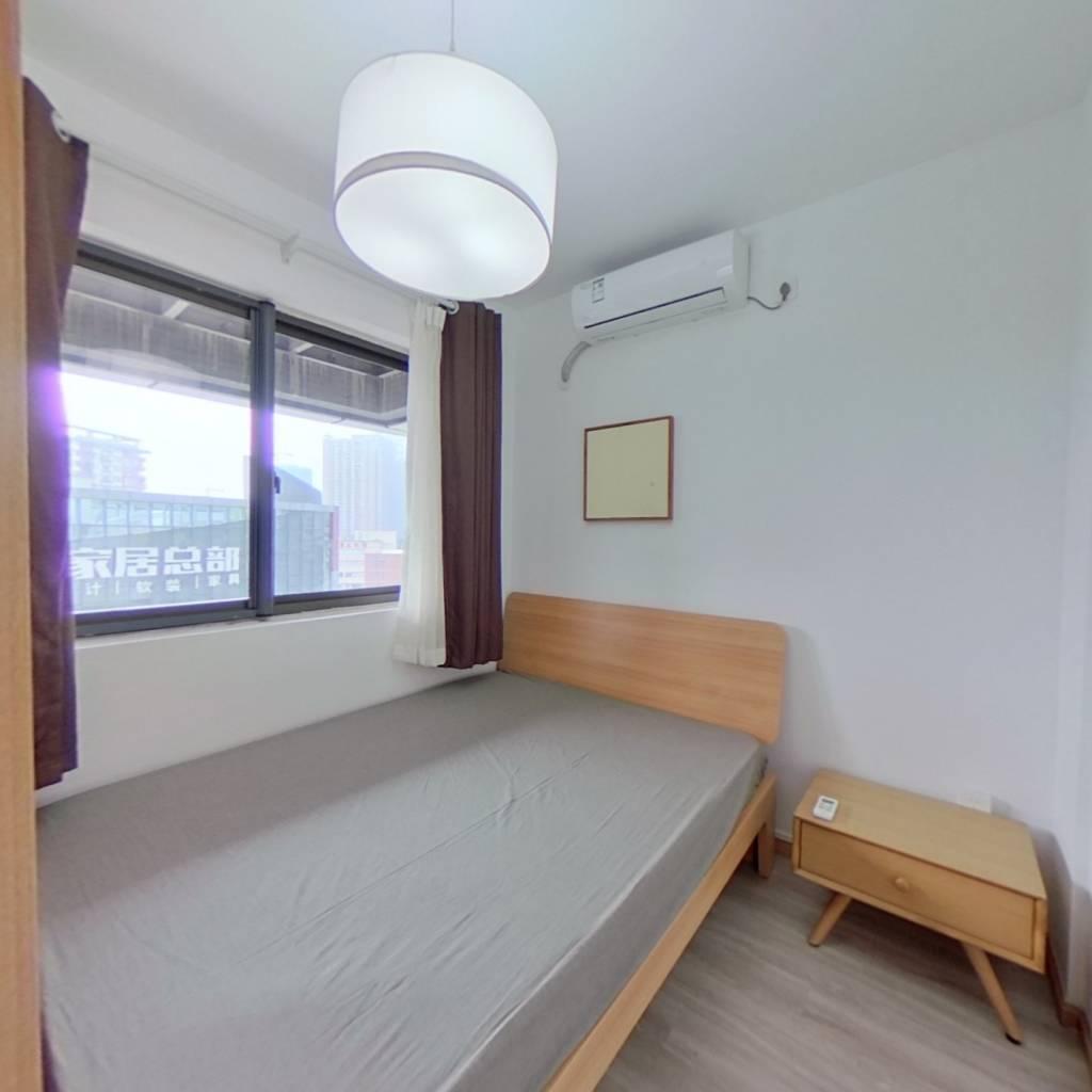整租·西锦国际三期 1室1厅 东南卧室图
