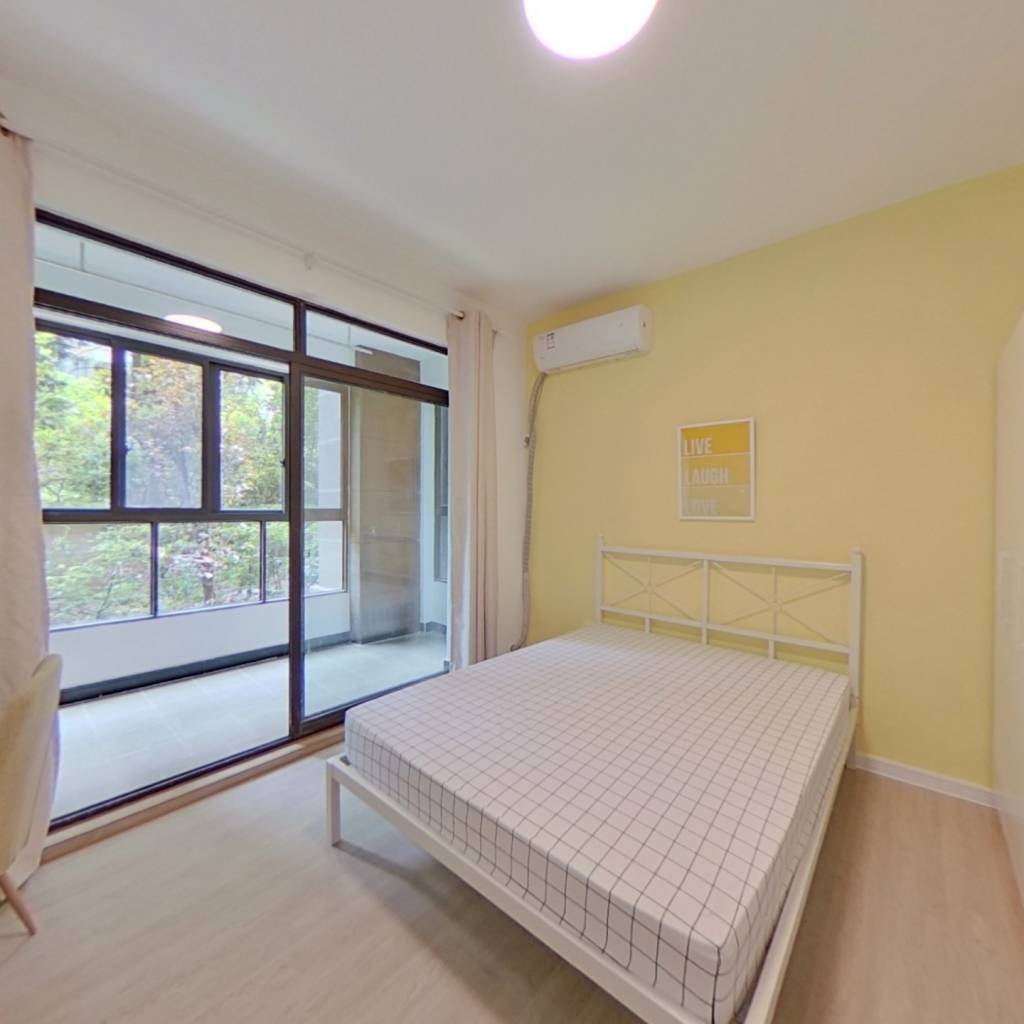 合租·绿地香颂(浦东)(公寓) 3室1厅 东卧室图