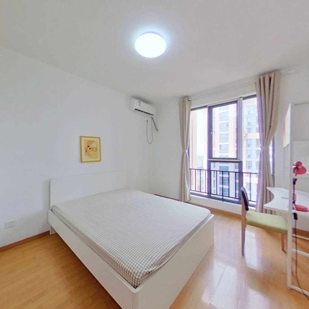 整租·绿地崴廉公寓 2室2厅 南卧室图
