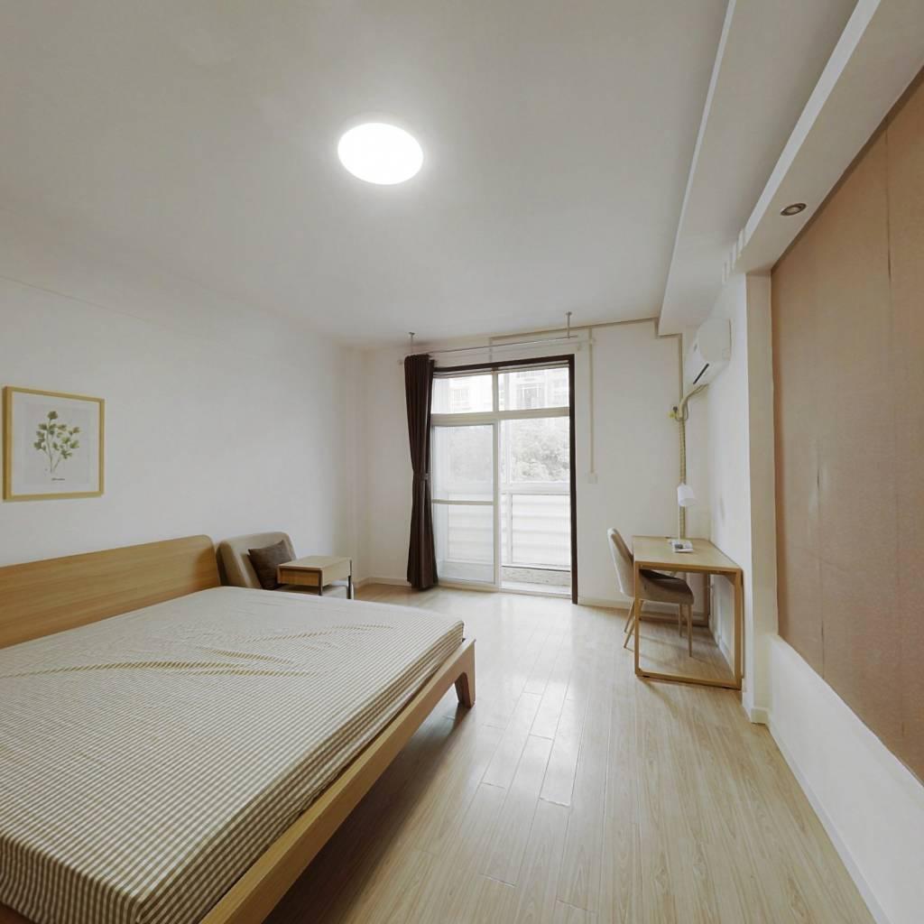 合租·绿色家园 4室1厅 南卧室图